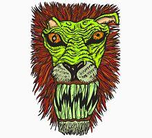 Monster Mondays #2 - Lionel Lion - Anger Monster! - Green Unisex T-Shirt