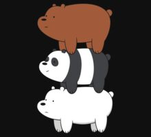 We Bare Bears One Piece - Short Sleeve