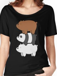 We Bare Bears Women's Relaxed Fit T-Shirt