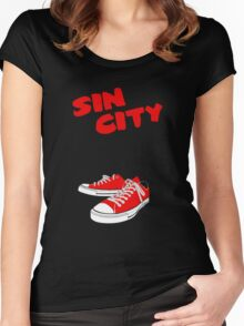 Sin City Converse Women's Fitted Scoop T-Shirt