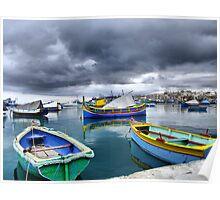 "Marsaxlokk after rain - ""The Boats calendar"":http://www.redbubble.com/people/incant/calendars/11083601-boats Poster"