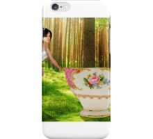 I'm a little teapot, short and stout iPhone Case/Skin