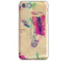 Splatter girl iPhone Case/Skin