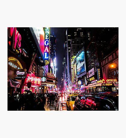 New York City Night Photographic Print
