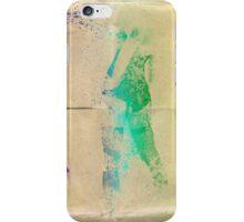 Splatter girl back iPhone Case/Skin