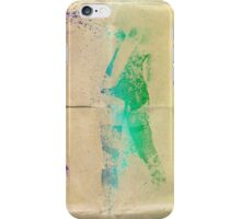 Splatter girl back iPhone Case/Skin