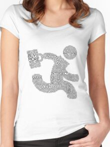 Versus (White) Women's Fitted Scoop T-Shirt