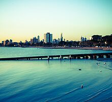Melbourne by the beach by paxamour