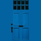 Blue Door, Apple iphone 4 4s, iPhone 3Gs, iPod Touch  by lapart