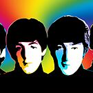 Beatles - Pop Color - Pop Art by wcsmack