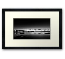 Dawn of a new day at Point Lonsdale Framed Print