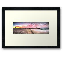 Currumbin Alley Sunset Framed Print