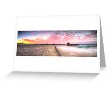 Currumbin Alley Sunset Greeting Card