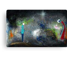 Night Gardener Canvas Print