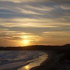 Sunset at Sugarloaf Point, Australia by deanobrien