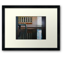 The Attendant Framed Print