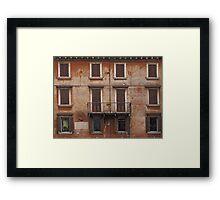 Verona - Facade Framed Print