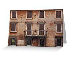 Verona - Facade Greeting Card