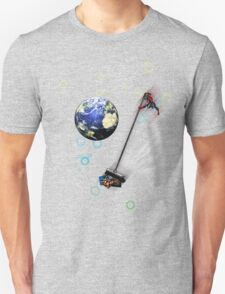 Captain planet rids the world of Batman & Robin & Jonas Bros! T-Shirt