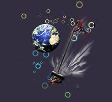 Captain planet rids the world of Batman & Robin & Jonas Bros! Unisex T-Shirt