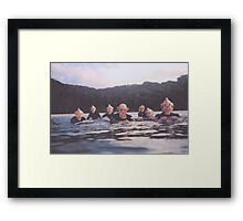 Break Ape Framed Print