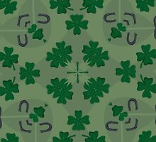 I Love Shamrocks! [iPhone - iPod Case/Skin] by aprilann