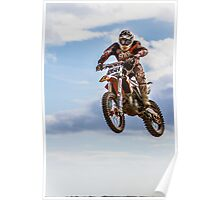 Flying Motocross Championships at Seaforde, Northern Ireland Poster