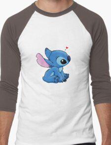 Stitch  Men's Baseball ¾ T-Shirt