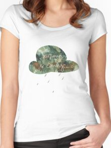pastel autumn is coming... Women's Fitted Scoop T-Shirt