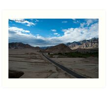 Highest desert Art Print