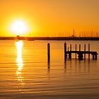 St Kilda Pier Sunset by paxamour