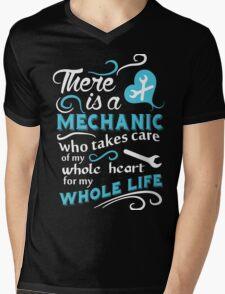 Mechanic Mens V-Neck T-Shirt