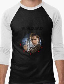 WWDWD - What Would Doctor Who Do? Men's Baseball ¾ T-Shirt