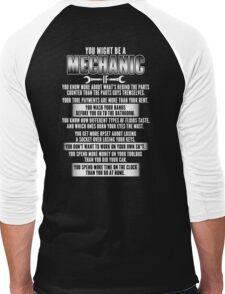 Mechanic Men's Baseball ¾ T-Shirt