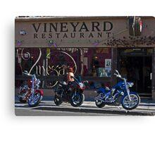 Vineyard Restaurant Canvas Print