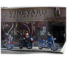 Vineyard Restaurant Poster