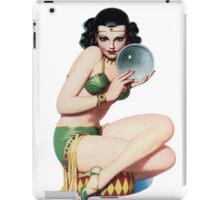 Tasty Pinup with Crystal Ball iPad Case/Skin