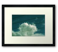 The Truth That's In Your Last Breath Framed Print