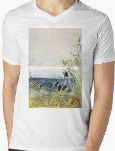 Freycinet N.P. morning view for calendar Mens V-Neck T-Shirt