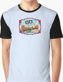 Go West, Young Man Graphic T-Shirt