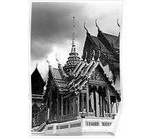 BW Thailand Bangkok the Dusit group 1970s Poster