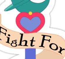 Fight for UNDERSTANDING! Sticker