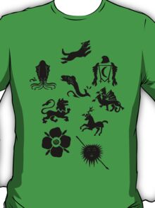The Great Houses of Westeros T-Shirt