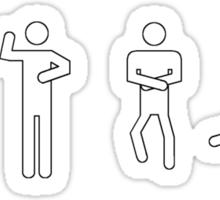 Gangnam style in 4 steps! Sticker