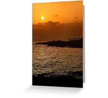 Cala Estancia Greeting Card