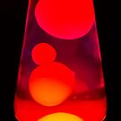Lava Lamp Orange by heidiannemorris