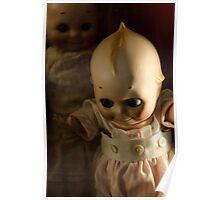 Creepy Cutie Pie Doll Image Poster