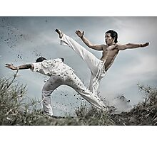 Capoeira fighter Photographic Print