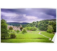 Bolton Abbey, North Yorkshire, UK Poster