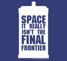 Not the Final Frontier by David Shires